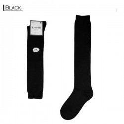 Plain Colour Knee High/Black