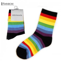 Kids Pattern Socks - Rainbow