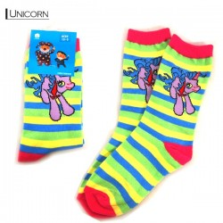 Kids Pattern Socks - Unicorn