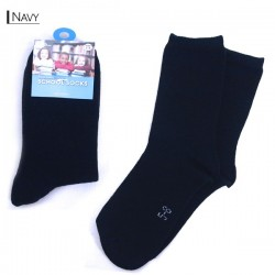 Kids School Socks/Navy