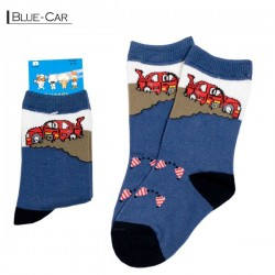 Baby Pattern - Blue / Car