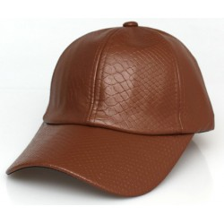 Baseball Cap - Leather Style