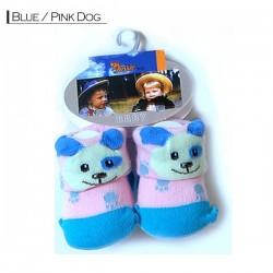 3D Baby - Blue / Pink Dog