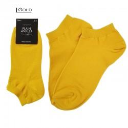 Plain Colour  Anklet - Gold
