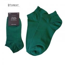 Plain Colour Anklet - Forest