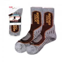 Trekking Socks - Grey & Brown
