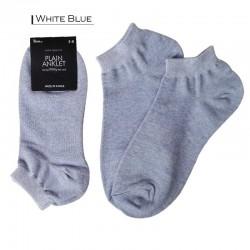 Plain Colour Anklet - White...