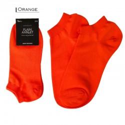Plain Colour Anklet - Orange