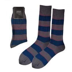 Men Dress - Large Stripes /...