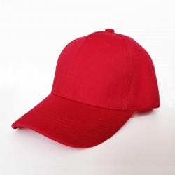 Plain Cap - Red
