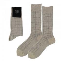 Men Dress - Square pattern/...