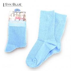 Kids School Socks/Sky Blue