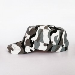 Military Cap - Camo Light