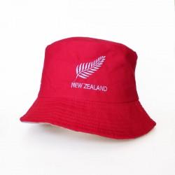Bucket Hat - Newzealand / Red