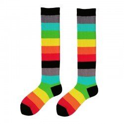 Fashion Knee High - Rainbow...