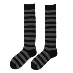 Fashion Knee High - Black &...