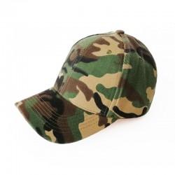 Baseball Cap - Camo Green