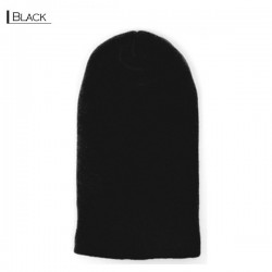 Plain Colour Beanie 13 / Black