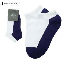 Kids Plain Anklet / White &...