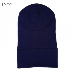 Plain Colour Beanie 15 / Navy