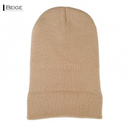 Plain Colour Beanie 22 / Beige
