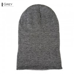 Plain Colour Beanie 23 / Grey