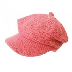 Angora Cap Beanie / Pink