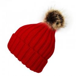 Pompom Beanie Type2 / Red