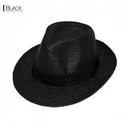 Plain Fedora Type2 - Black