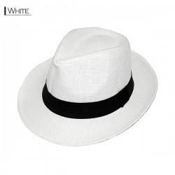 Plain Fedora Type2 - White