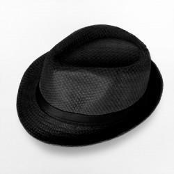 Plain Fedora Type1 - Black