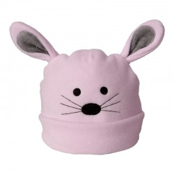 Baby Beanie - Pink Mouse