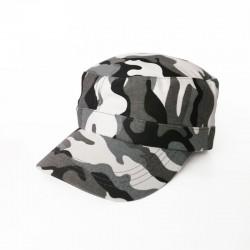 Military Cap - Camo White