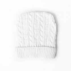 Fashion Beanie Knit / White