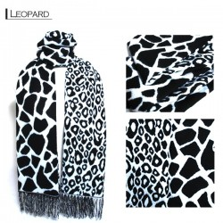 Shawl Thick - Leopard (Two...