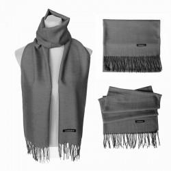Plain Scarf - Grey
