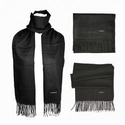 Plain Scarf - Black