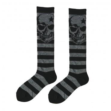 Fashion Knee High - Skull /...