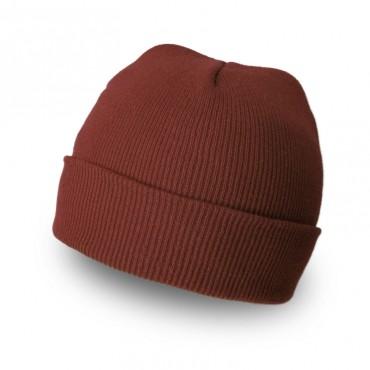 Plain Colour Beanie 11 / Brown