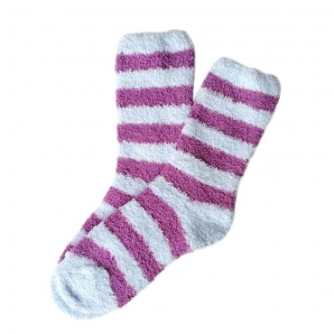 Bed Socks Long - Purple &...