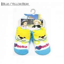 3D Baby - Blue / Yellow Bear