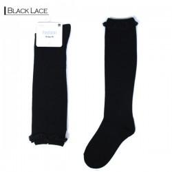 Fashion Knee High - Black Lace