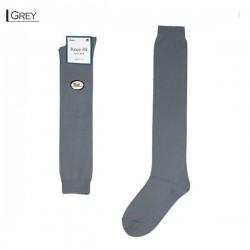 Plain Colour Knee High/Grey