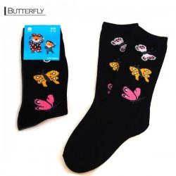 Kids Pattern Socks - Butterfly