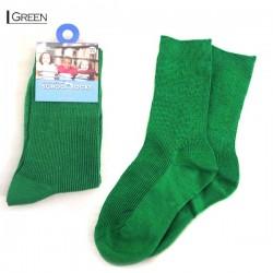 Kids School Socks/Green