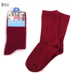 Kids School Socks/Red