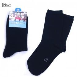 Kids School Socks/Navy