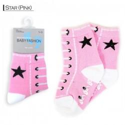 Baby Pattern - Star/Pink
