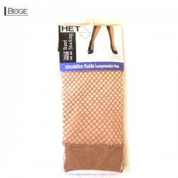 Diamond Fishnet Band Stocking