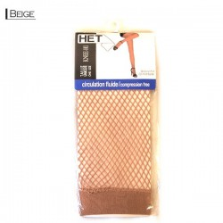 Diamond Fishnet Knee High